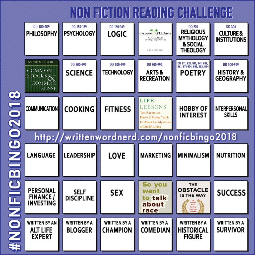 nonfiction bingo 2018 so you want to talk about race
